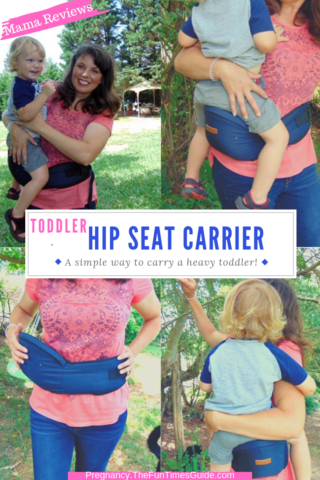 My toddler hip seat carrier review with pros & cons.