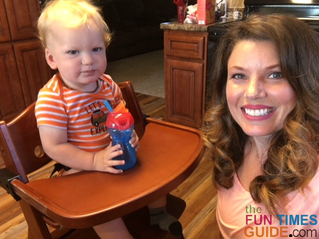 My baby loves his Keekaroo high chair!  sc 1 st  Pregnancy u0026 Parenting Guide - Fun Times Guide & My Keekaroo Height Right High Chair Review: See How It Compares To ...