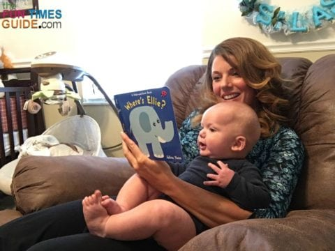 I've been reading to my son since he was a newborn. We love books!