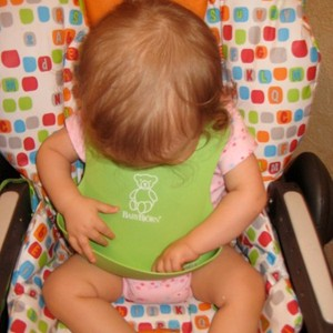 baby bjorn molded bib - best baby gifts