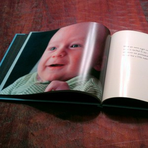 baby photo book - unique baby gifts