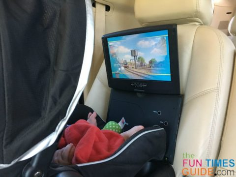 baby dvd player for the car - the insignia portable dvd player