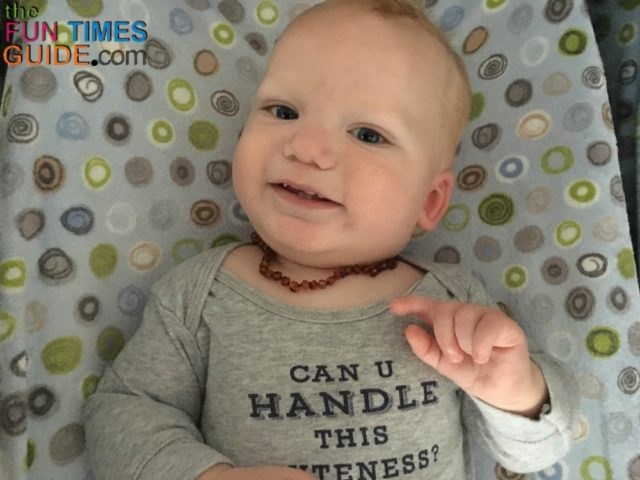 My Baby S Experience With The Baltic Amber Teething Necklace No