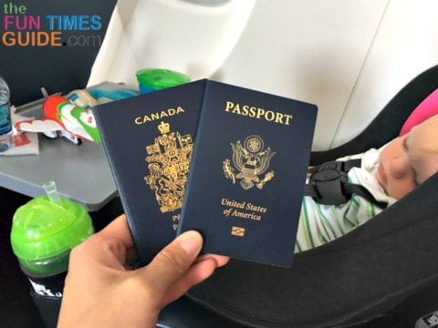 See what it was like getting my baby's first passport -- a U.S. Child Passport. Plus how to get your baby's Canadian passport.