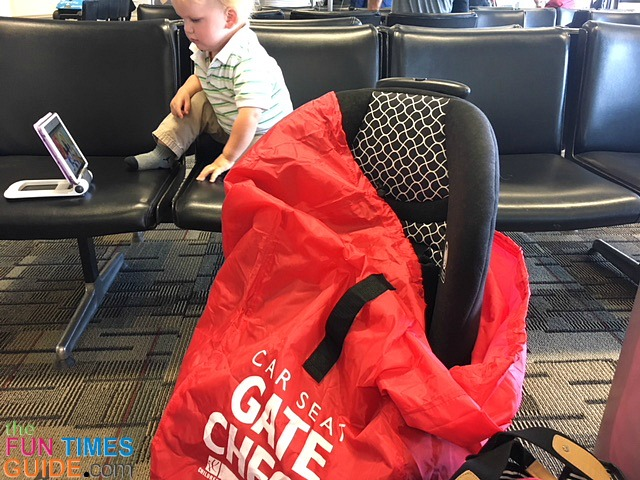 This Is The Car Seat Gate Check Bag That I Used On Flights Where He