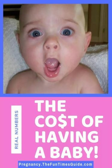 See the average cost of having a baby these days + The cost of raising your baby for the first 2 years.