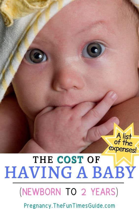 See the average cost of having a baby