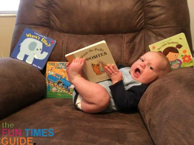 They Say To Start Reading To Babies Early! Here's How To Get