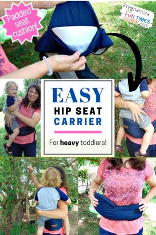 My toddler hip seat carrier review with pros & cons - I tried it with my HEAVY toddler!