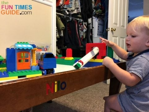 My son loves the Nilo table. It's better than always playing on the floor.