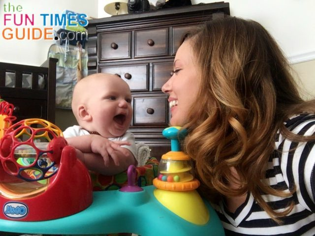 See Why This Mom Thinks The Oball Bounce O Bunch Activity