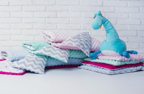 See my list of fun ways to repurpose baby blankets.