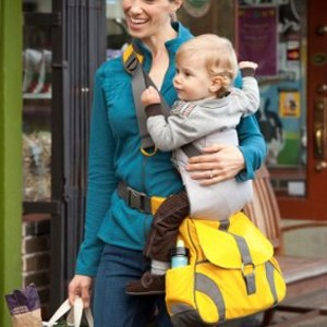 unique baby gifts - sidekick baby carrier diaper bag