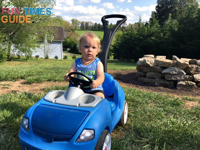 Mom Review Of The Step 2 Whisper Ride On Push Car For