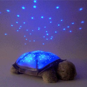 twilight turtle night light - best baby gifts
